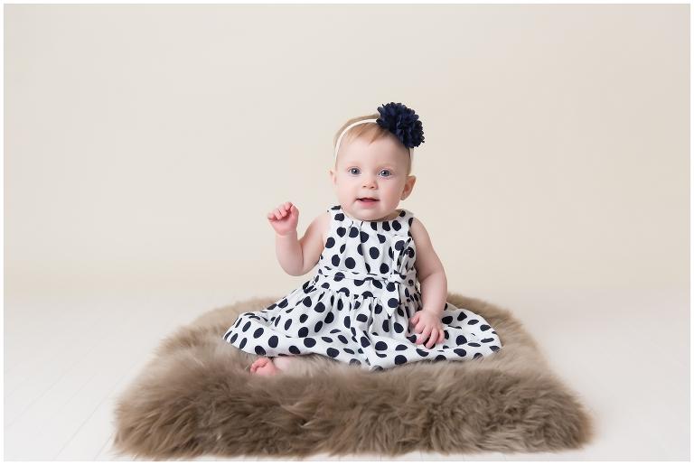 ottawa baby photographer, girl, studio