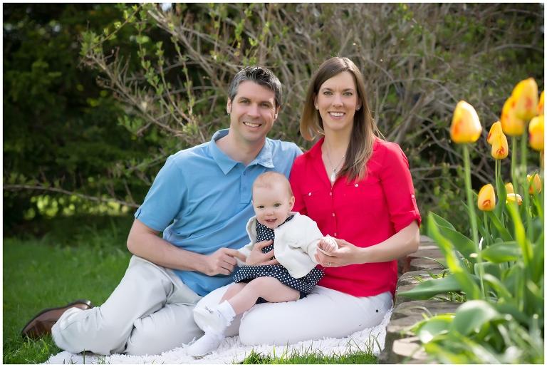 ottawa family photographer, baby girl, spring