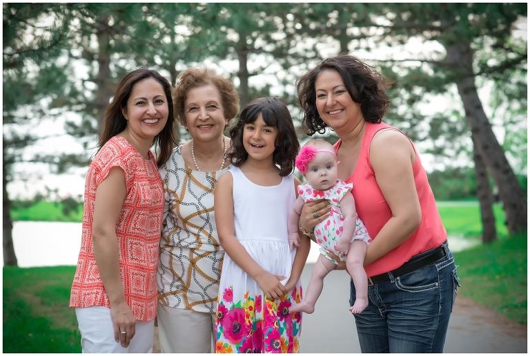 ottawa family, children, baby, sisters, grandma