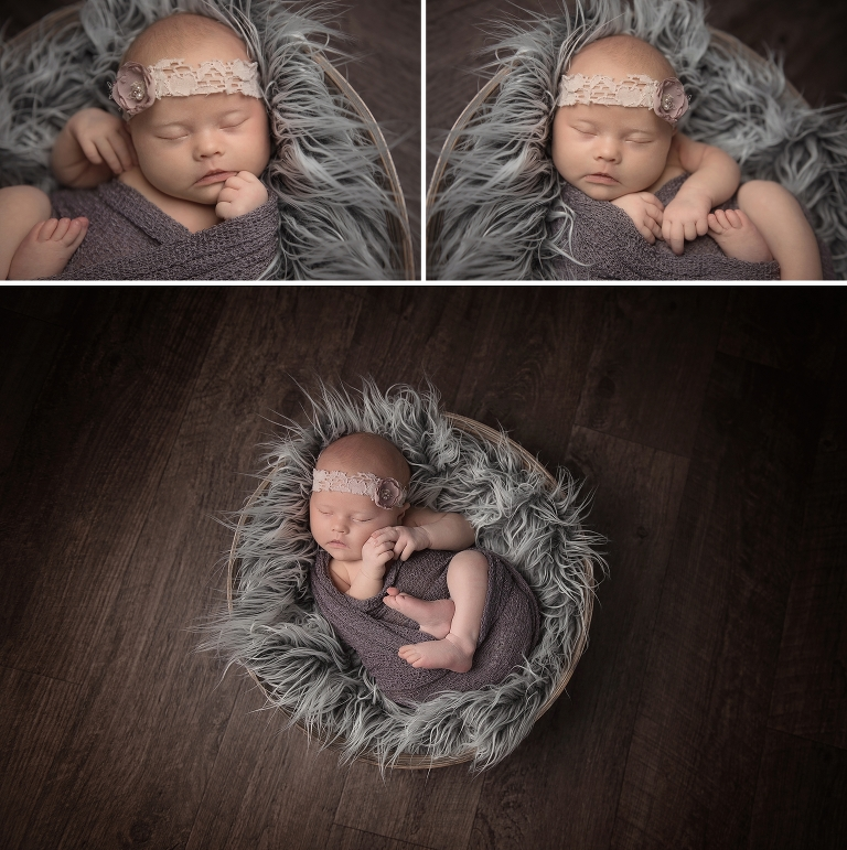 Ottawa newborn photographer baby ivy rose