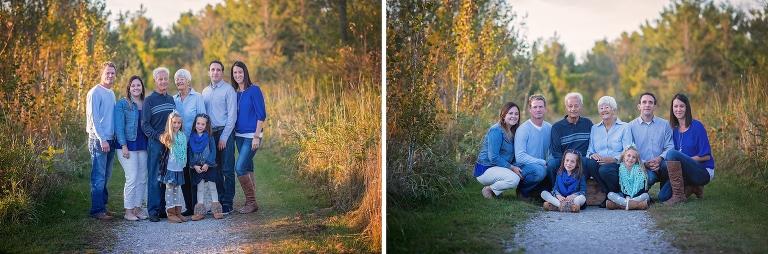 ottawa family photographer, group photographer, extended family, kanata, stittsville, children, grandparents