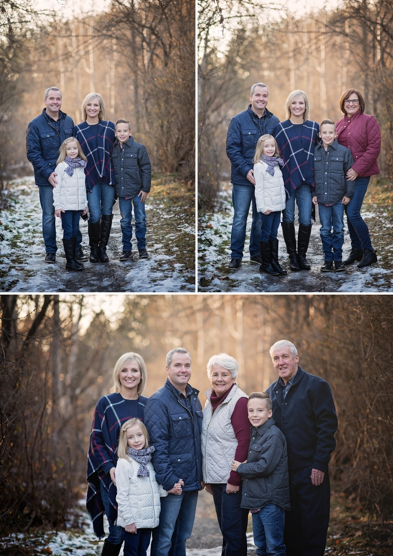 ottawa family photographer, grandparents, ottawa photography, winter photos