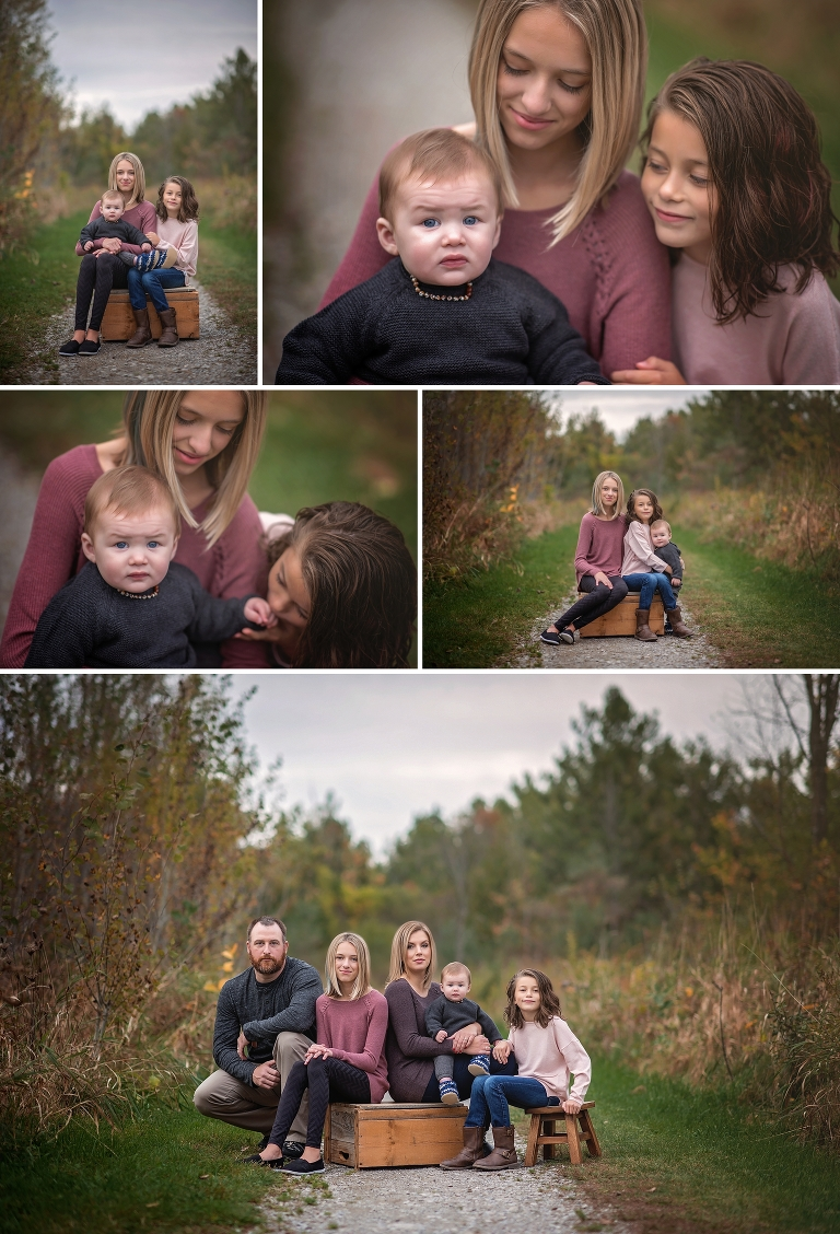 ottawa family photographer, family in the fall, family of five, fall session, outdoor photos